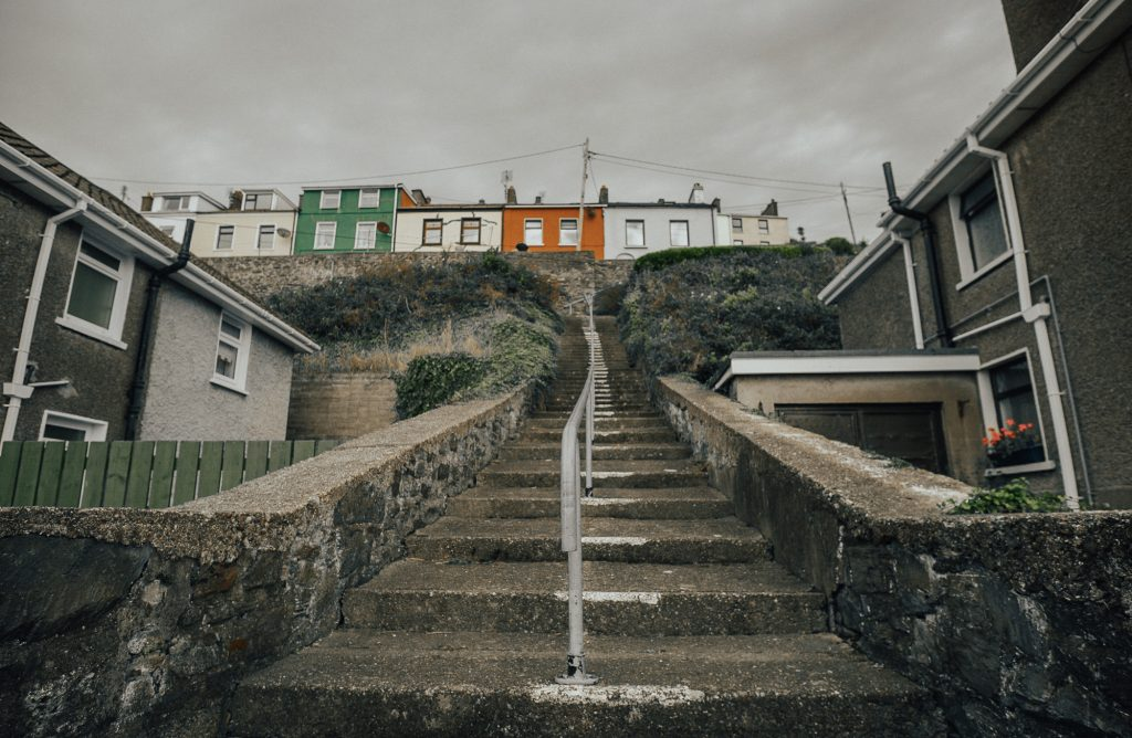 the sleepy irish town of Cobh