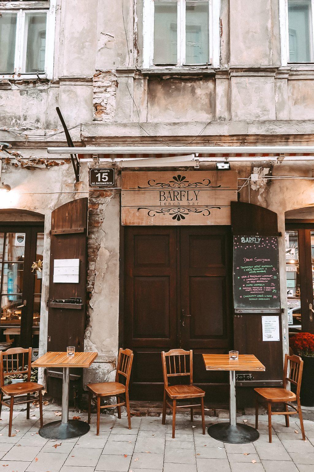 krakow poland barfly cafe grunge