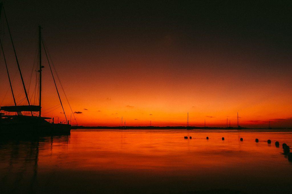 Isla Mujeres Mexico Sunset