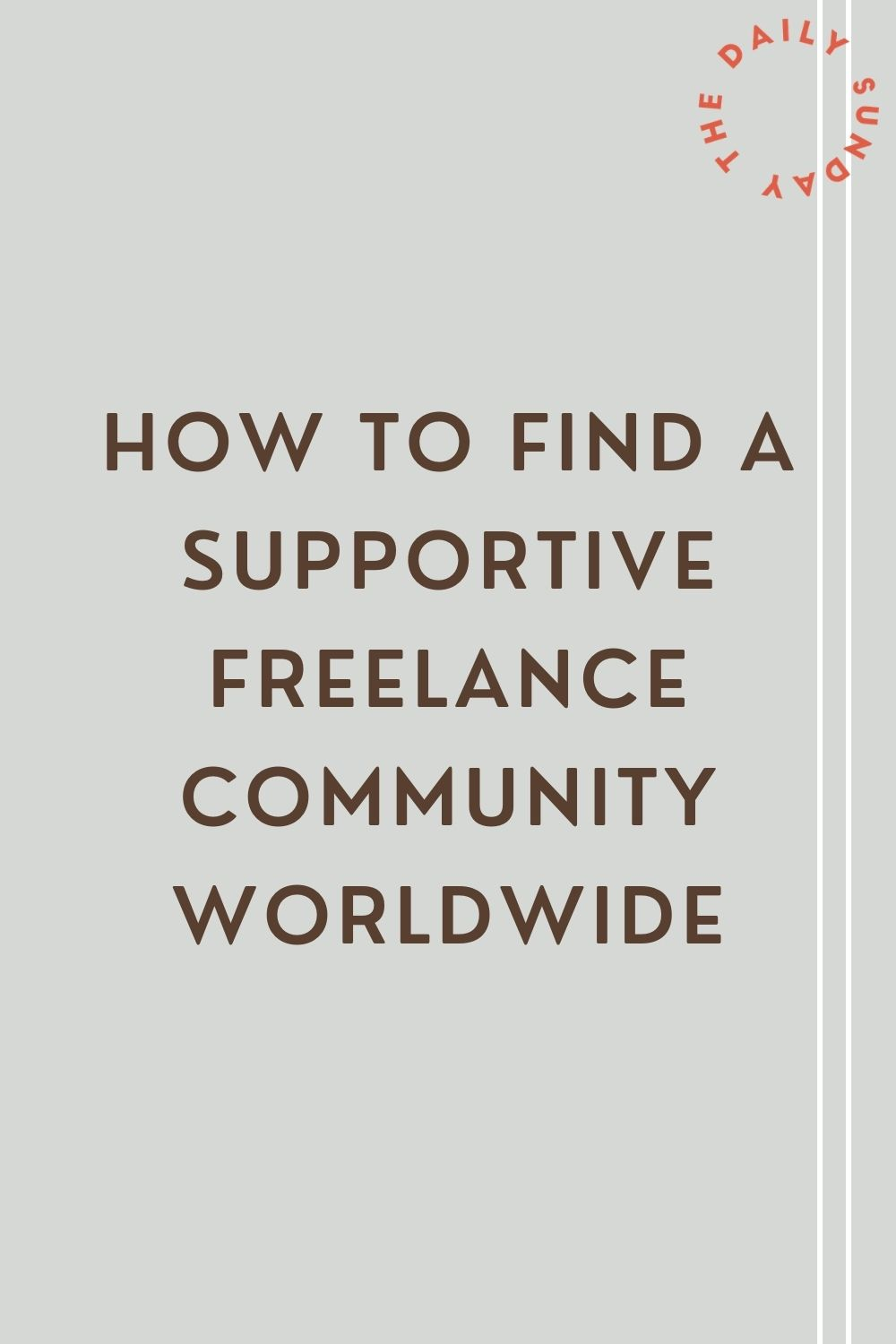 How to find a supportive freelance community worldwide