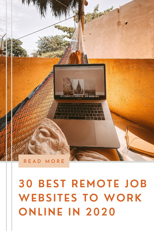 30 best remote job websites to work online in 2020